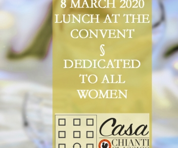 8 MARCH Women's Day: lunch and sensory journey at Casa Chianti Classico